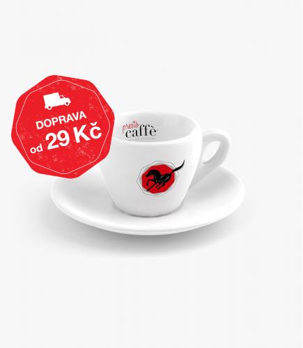 Šálek s podšálkem na espresso Presto Caffé