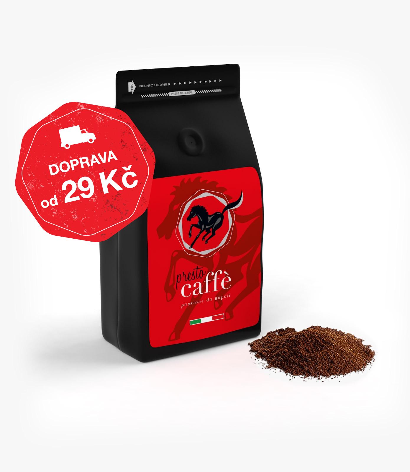Presto Caffé mletá káva 250 g